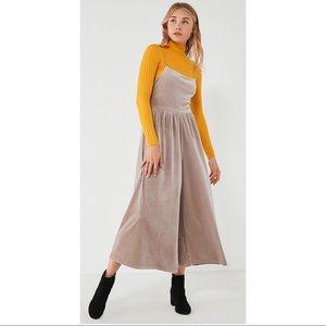 Urban Outfitters Velvet Jumpsuit